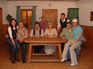 Sandra Karl, Peter Scheubeck, Christian Kalesse, Roswitha Horvat, Eva Gottmeier, Hans Auburger jun., Markus Wolf, Monika Wolf