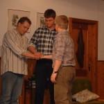 Franz Voith, Markus Wolf, Dieter Reisinger