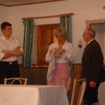 Markus Wolf, Manuela Kalesse, Hans Auburger jun.